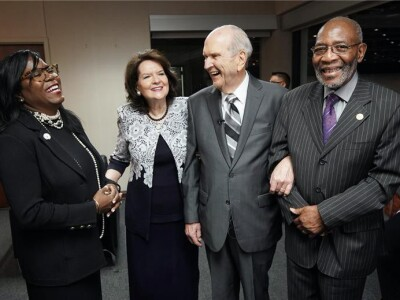 President Nelson Shares Social Post about Racism and Calls for Respect for Human Dignity