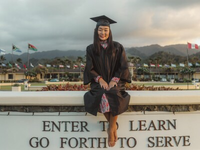 Nomungerel Enkhtuvshin said her major helped her discover herself and others better