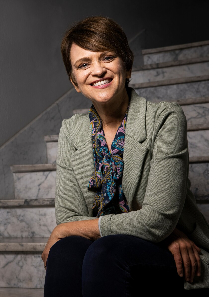 A professional portrait of Shaunna George, business manager for BYU General Education.