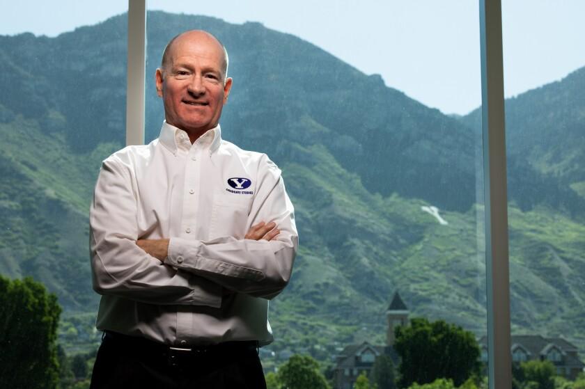 Professional portrait of Bill Cope, BYU IT software architect.