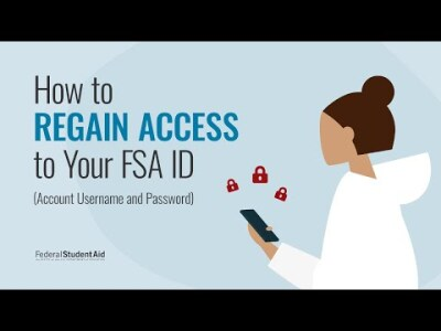 Troubleshooting Your Account Username and Password (FSA ID)
