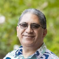 Arapata Meha. Director of International Student Services in the International Student Services Office at BYU-Hawaii.