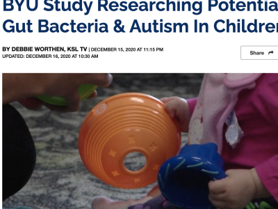 Dr. Lundwall and her team's research is featured on KSL