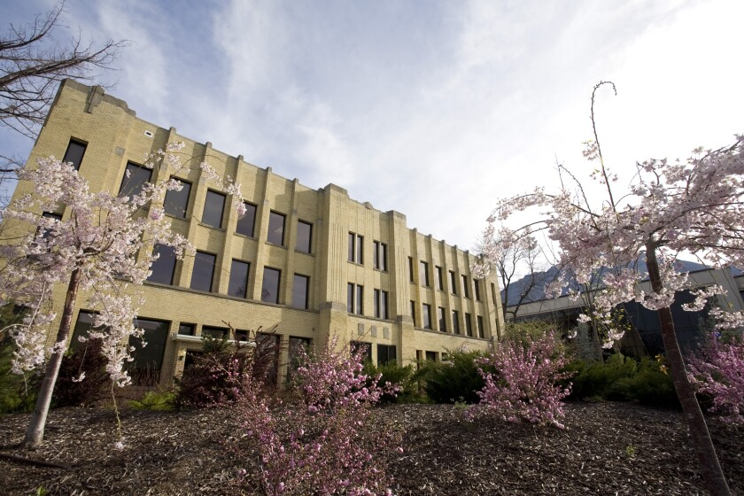 The BYU School of Communications is housed in the Brimhall Building.