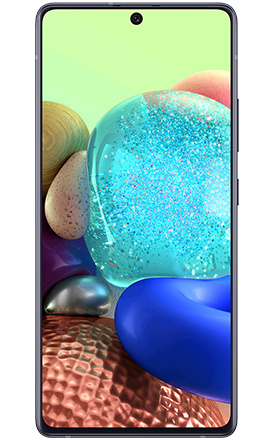 Image of Samsung a71 5G cellphone