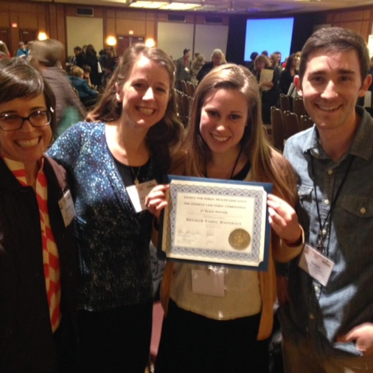 BYU public health students take first place in national ...