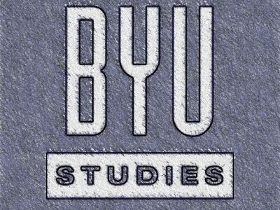BYU Studies publishes scholarship that is informed by the restored gospel of Jesus Christ