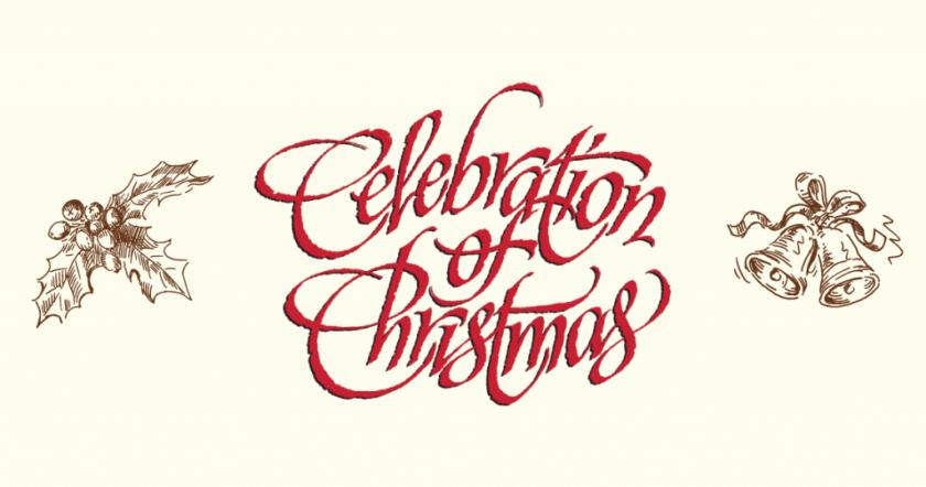 Celebration of Christmas poster art