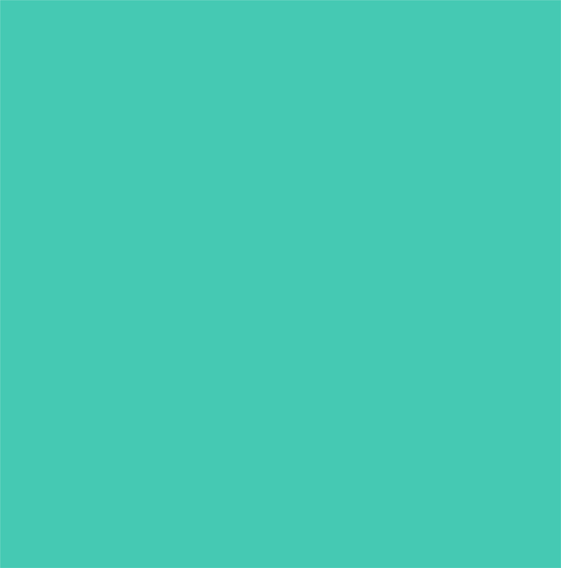 Sample of teal, one of the accent colors.
