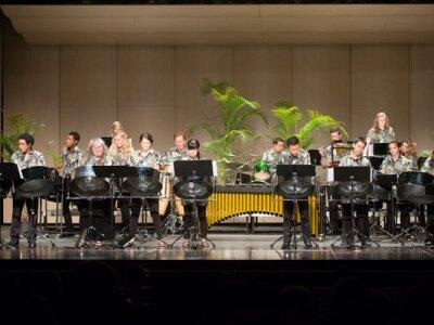 Shaka Steel and Polynesian Drum Ensemble Performance