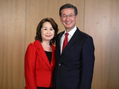 Devotional: Elder and Sister Yamashita