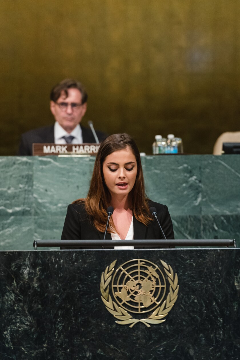 Rachel Lott Speaks at UN