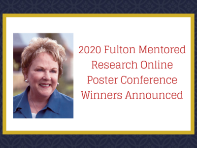 Winners Announced in the Online Fulton Poster Conference