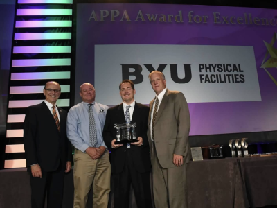 BYU Physical Facilities nationally recognized for excellence