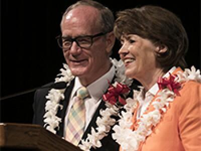 President John S. Tanner & Susan W. Tanner