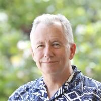 Michael Kuehn in an Aloha Shirt