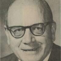 Newspaper photo of Alma P. Burton