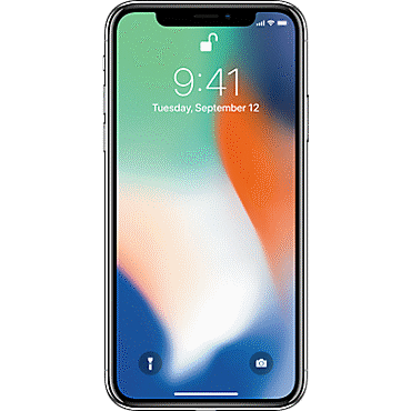 Image of Apple iPhone X cellphone