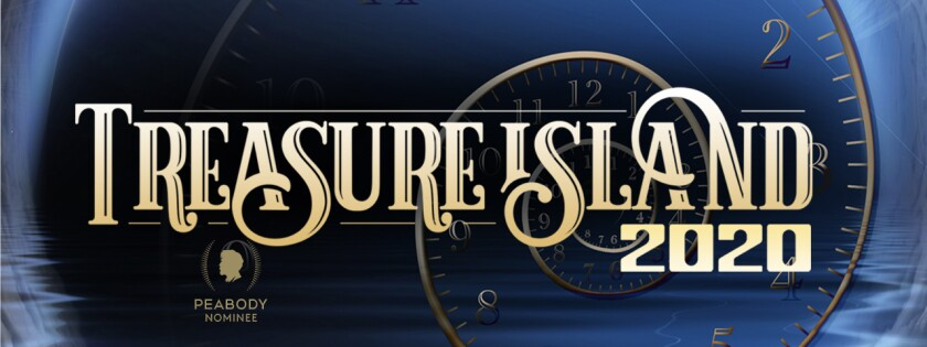 Treasure Island logo for the Peabody awards