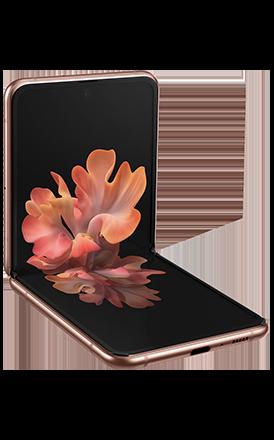Image of Samsung galaxy Z-Flip
