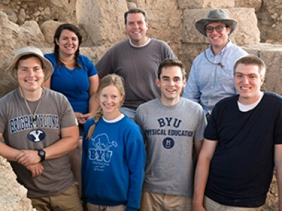 BYU Archaeology Team