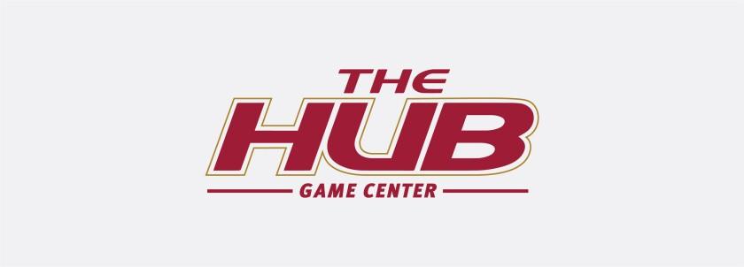The HUB Game Center's registered mark