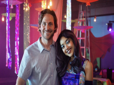 Patty Srisuwan and Chris Cowden