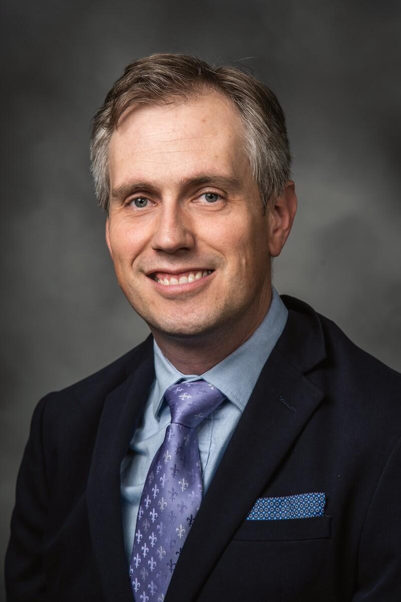 Photo of Professor Jason Kerr
