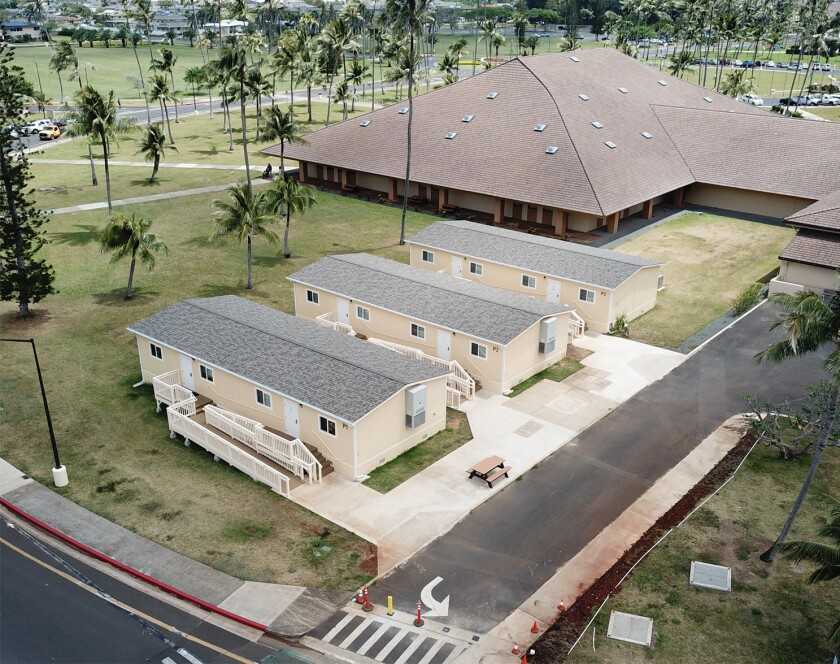 Portable Buildings on BYUH Campus