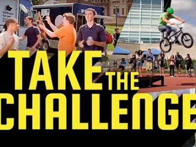 Picture of Take the Challenge Banner