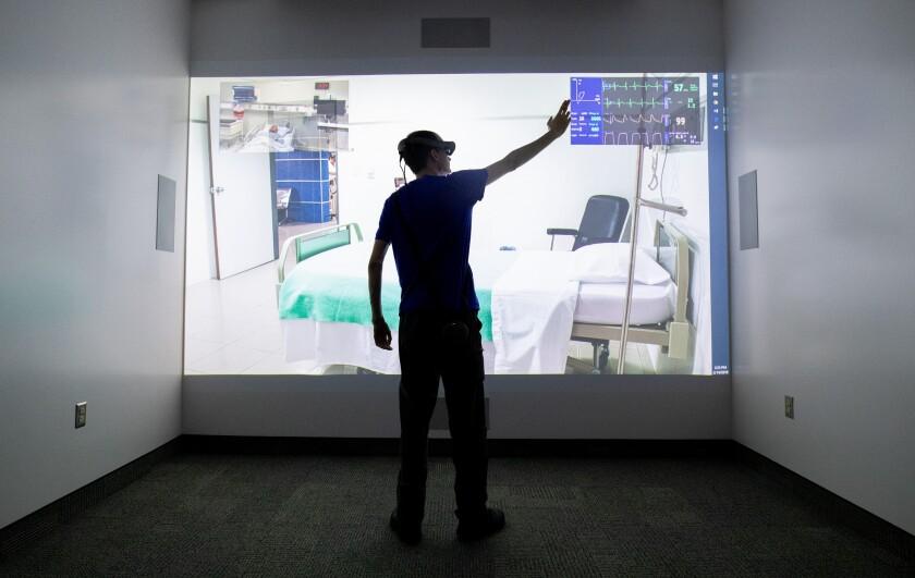 VR screen