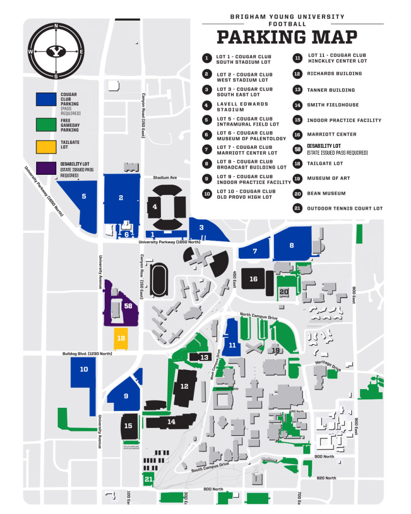 BYU Football Parking Map Football new.png