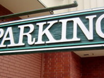 Photo of a Parking sign