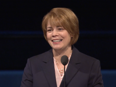 Sharon Eubank speaks at Women's Conference