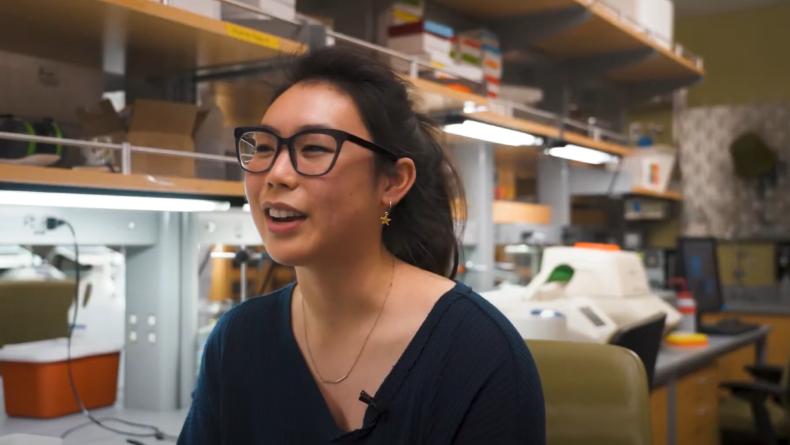 Neuroscience student Erin Saito