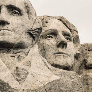 Mount Rushmore memorial