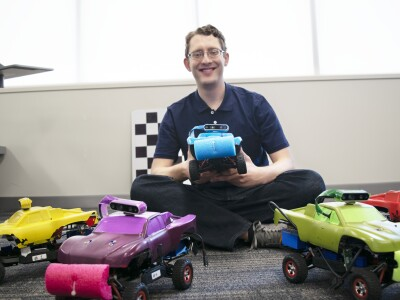 Undergrad Earns Recognition for Work with Self-Driving Cars