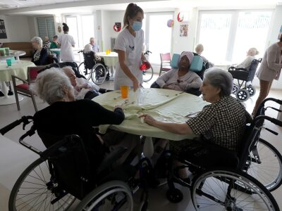 BBC World Service - The Real Story, Covid-19: What's best for the elderly?