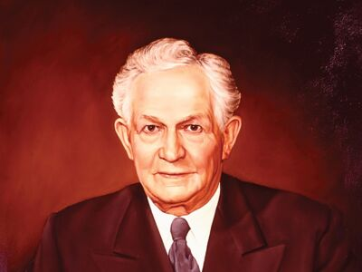 Photo of David O Mckay_mormon prophet