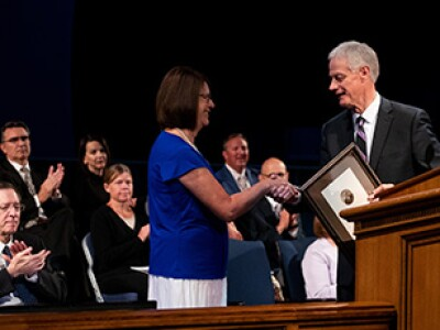 Become Zion through love and learning, President Worthen directs