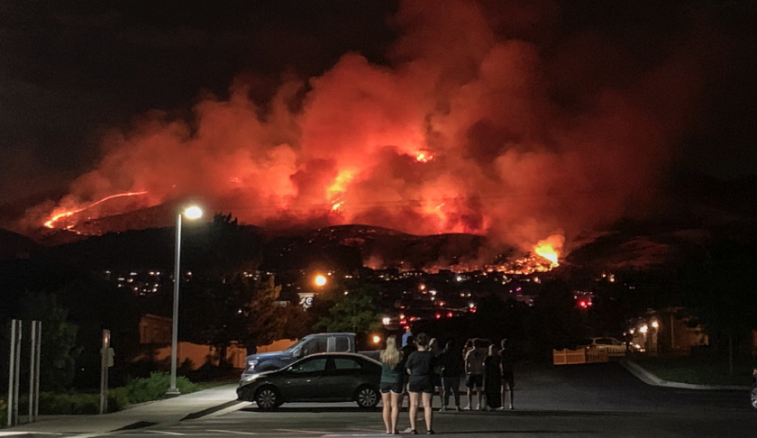 Traverse Mountain Wildfire