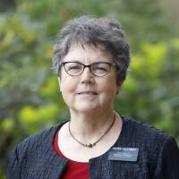Sister Barbara Galloway. Senior missionary serving as the Administrative Assistant in the International Student Services Office at BYU-Hawaii.