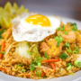 This is a photo of fried rice.