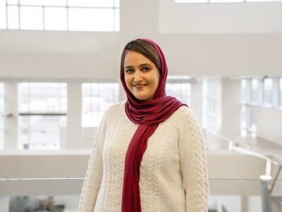 Sara Sayedi, a PhD student in the Plant and Wildlife Sciences Department, moved from Iran to Utah with the determination to influence environmental policy change.