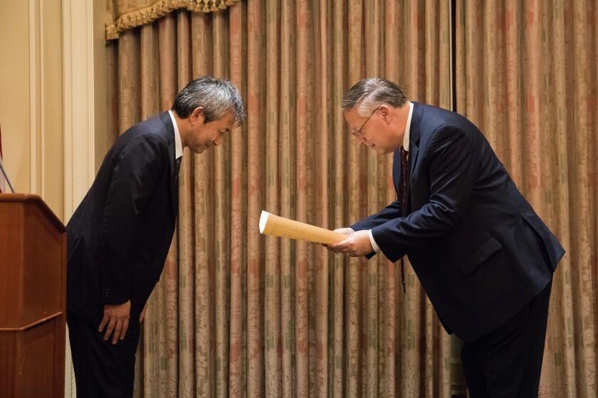 Consul General and Van C. Gessel