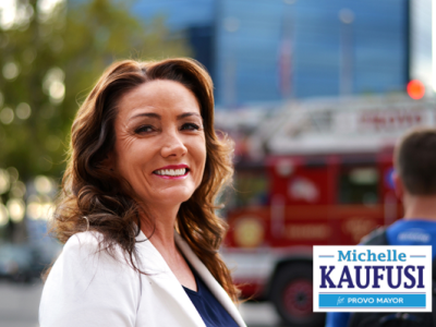 Congratulation to BYU Geography graduate Michelle Kaufusi on winning the Provo Mayoral Election