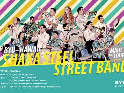 Shaka Steel and Street Band Maui Tour 2017