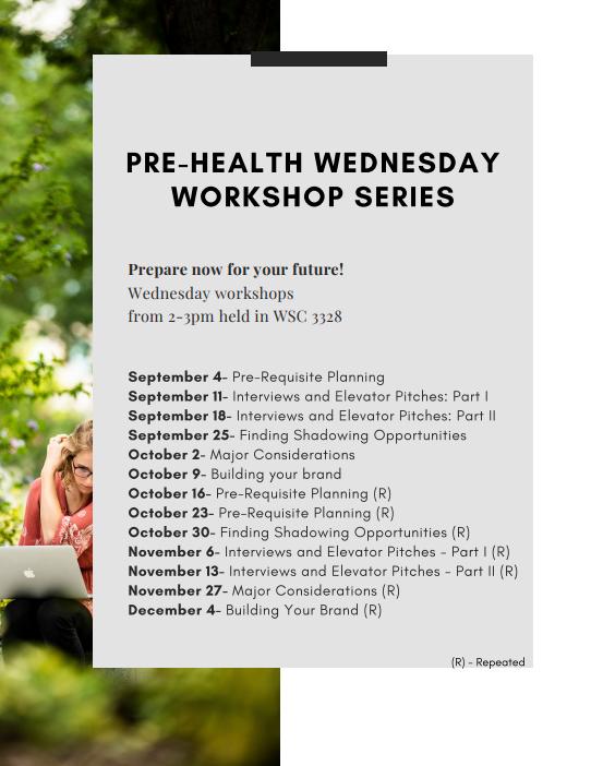 Pre-Health Workshop