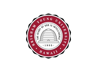 Brigham Young University–Hawaii Official Seal logo
