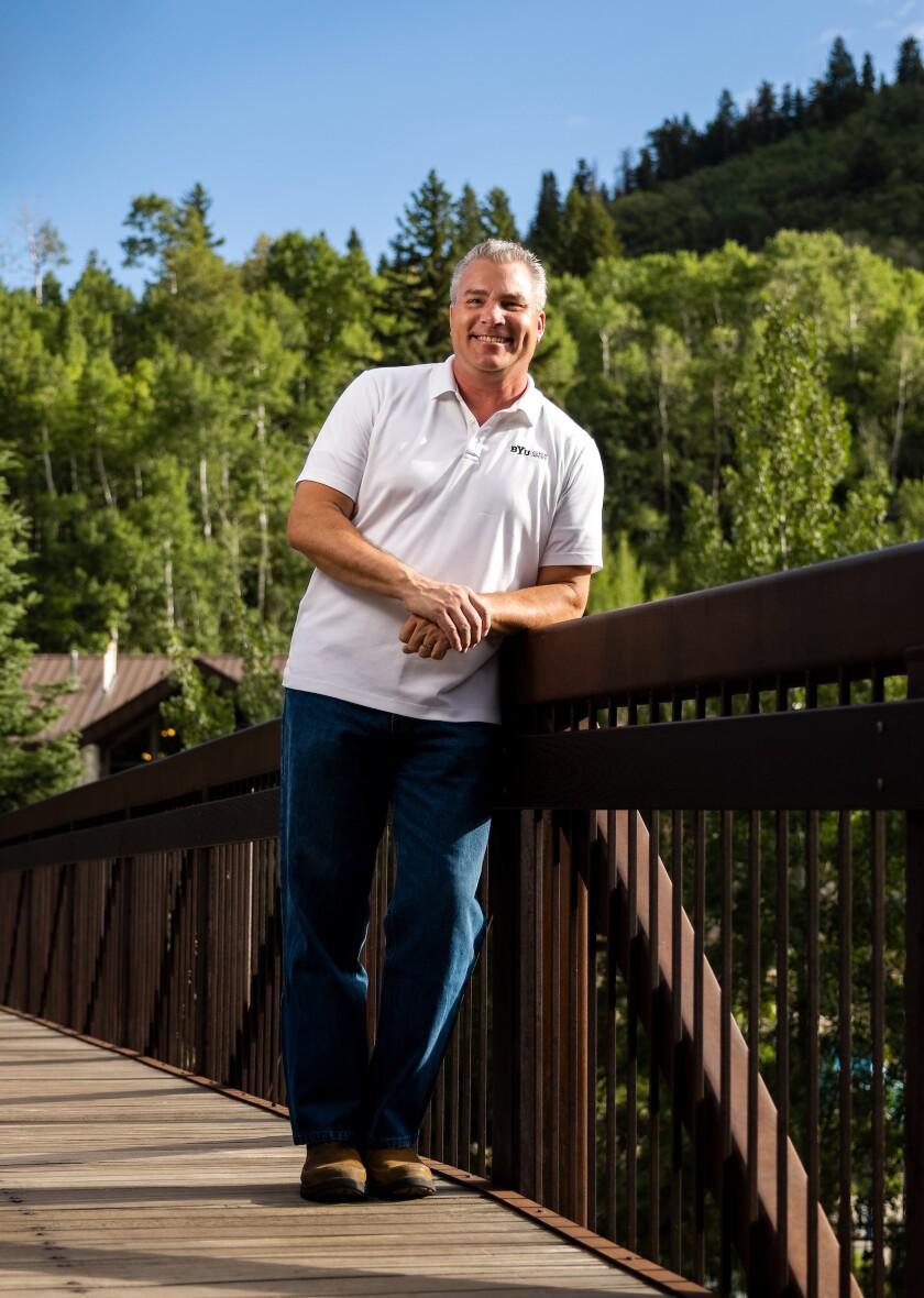 A professional portrait of Craig Freeze, director of BYU's Aspen Grove.
